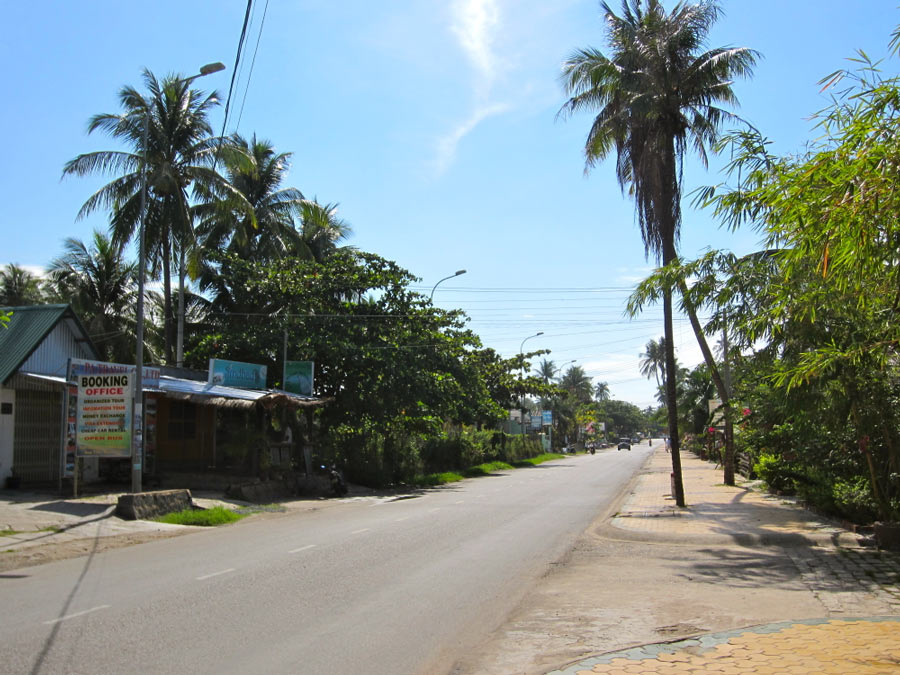 Main street Mui Ne, vietnam