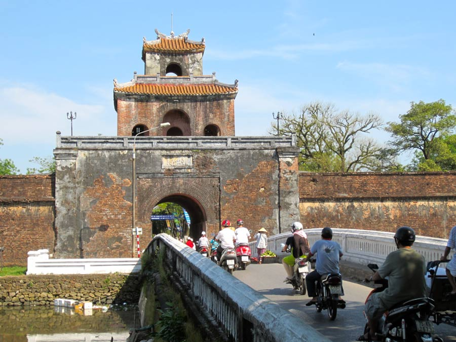 Ngan Gate imperial city hue vietnam
