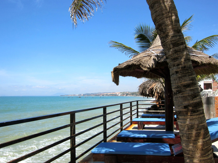 View of the sea from Bian Nho resort, Mui Ne, Vietnam