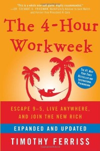 the book The Four Hour Work Week