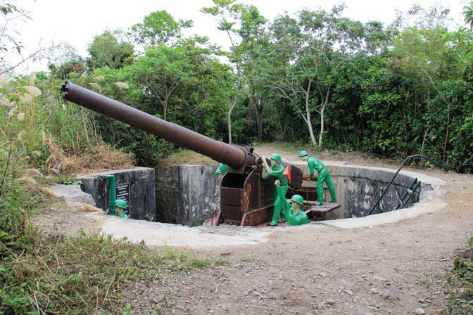 Cannon fort artillery gun