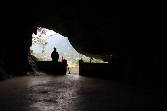 Hospital cave on Cat Ba Island, Vietnam