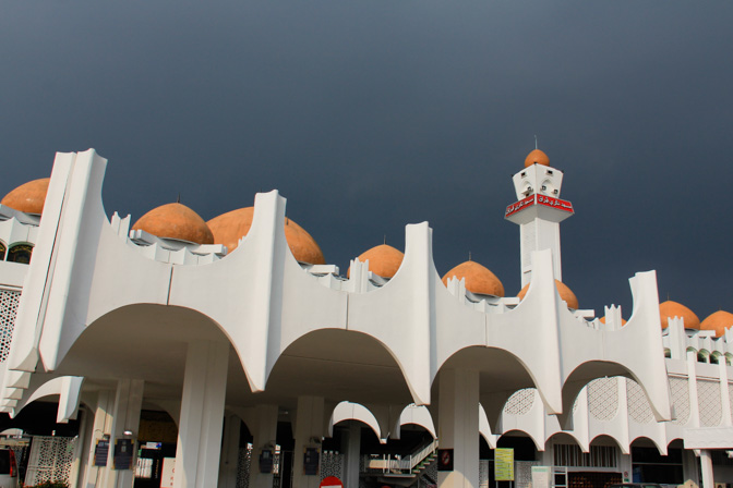 State mosque in Ipoh, Malaysia
