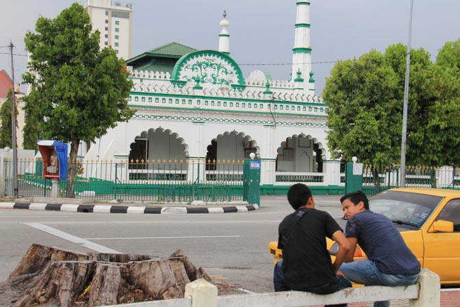 Sheikh Adam's Mosque in Ipoh, Malaysia