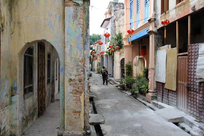 concubine lane in Ipoh, Malaysia