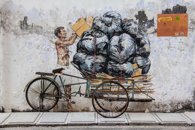 Ipoh, Malaysia street art