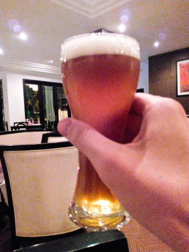 Cerveceria beer at Deco Restaurant