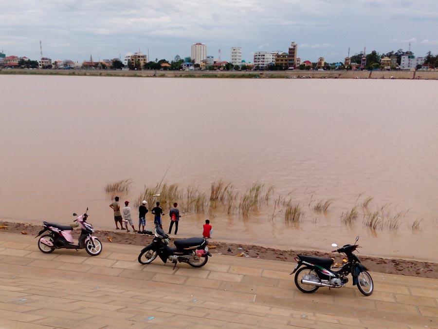 Mekong River in Phnom Penh, Cambodia