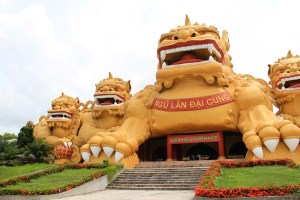 5 Unicorn Labyrinth in Dai Nam Park, Vietnam