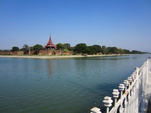 Mandlay Palace in Mandalay, Myanmar.