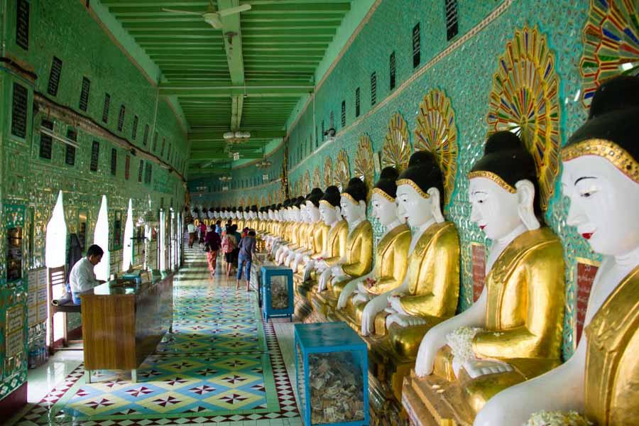 Oo Hmin Thone Sel Pagoda, Sagaing, Myanmar