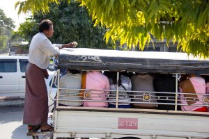 Pickup in Mandalay Myanmar