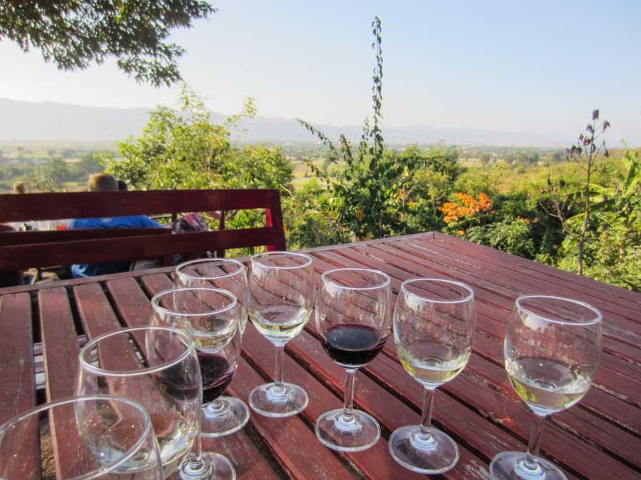 Inle Lake, Red Mountian Estate Winery in Myanmar