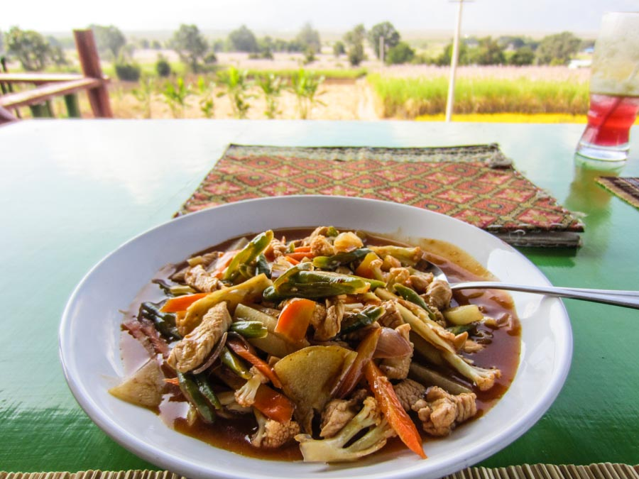 Inle Hear View - sweet and sour chicken