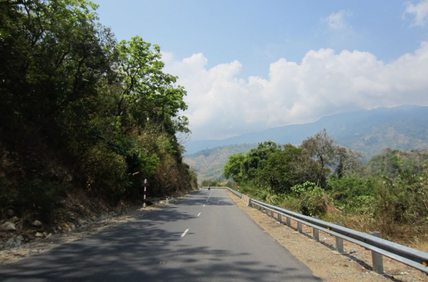 Road outside of Dalat, Vietnam
