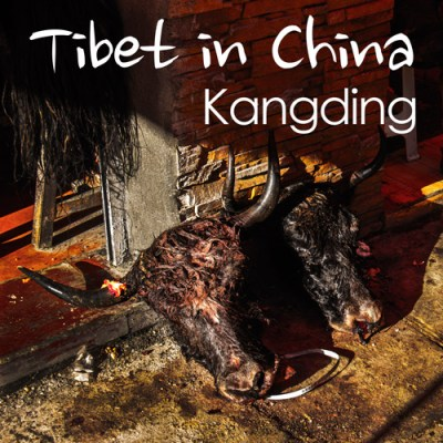 Tibet in China - Kangding, Sichuan, China