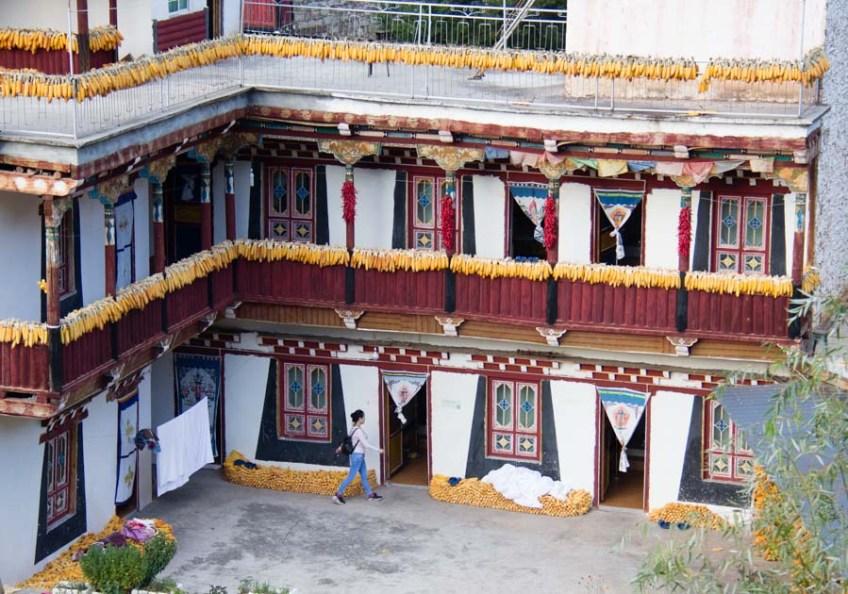 Tibet homestay in Danba