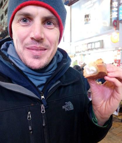 Gyeran-ppang or egg bun in Myeongdong Seoul, Korea