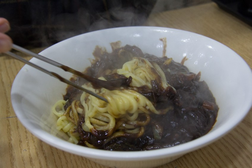 Jajangmyeon - Korean Chinese food