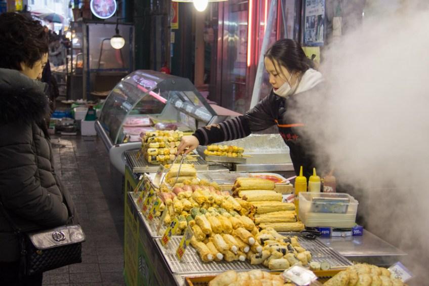 hot bar in Sinpo international market
