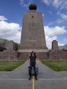 mitad del mudo - the equator in Ecuador
