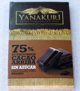 Yanakuri chocolate