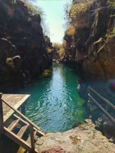 las grietas swimming lagoon galapagos
