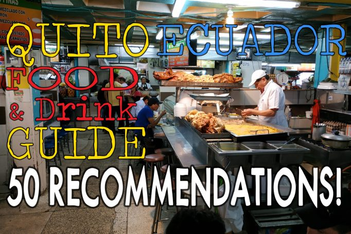 Quito food and drink guidee