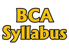 BCA Syllabus