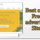 free advertising sites for bloggers