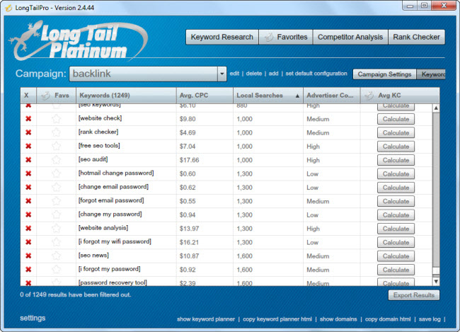 Affordable Search Engine Optimization long tail pro keyword research