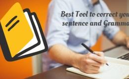 Sentence Corrector & Grammar check free no download required