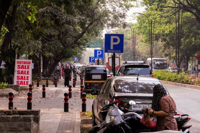 The policy proposes clearly demarcating legal and restricted parking spaces