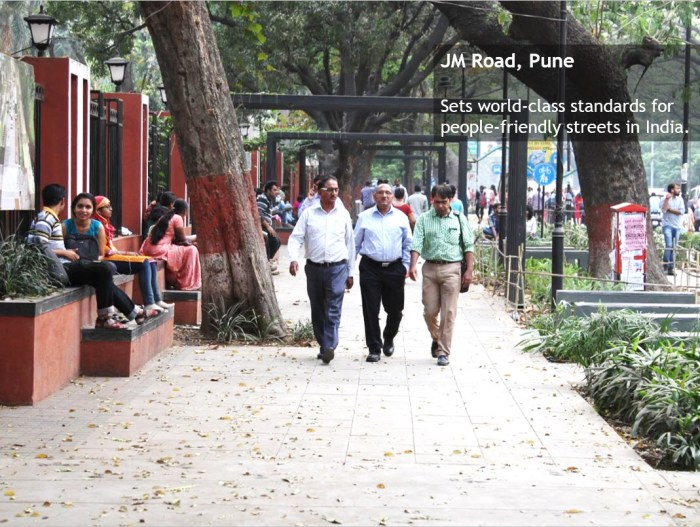 Pune complete streets