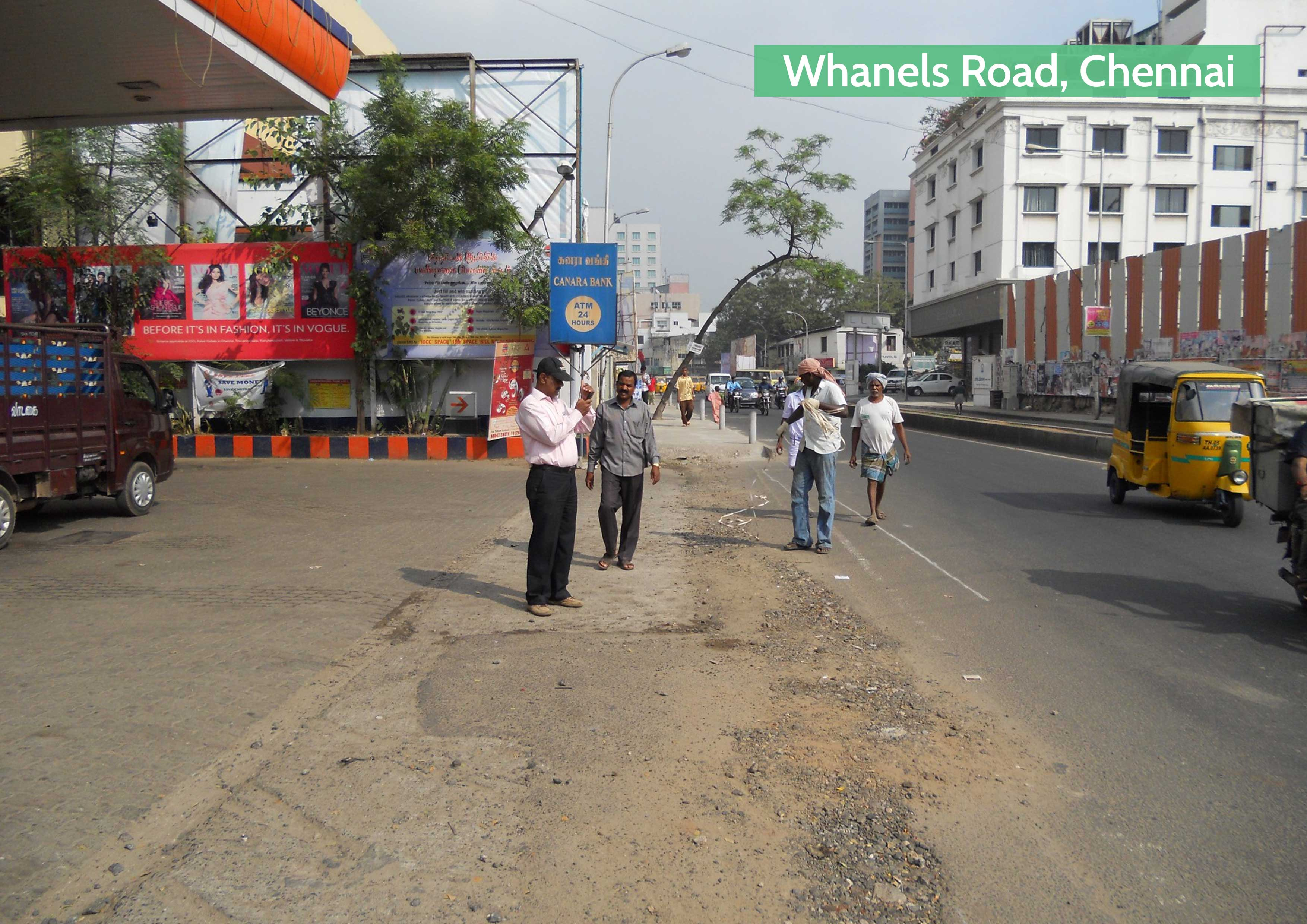 Before-Whanels Road, Chennai