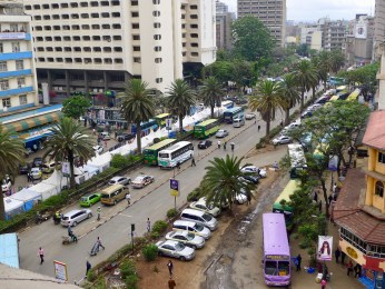 Moi Avenue currently