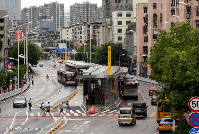 Yichang BRT, Yichang, China