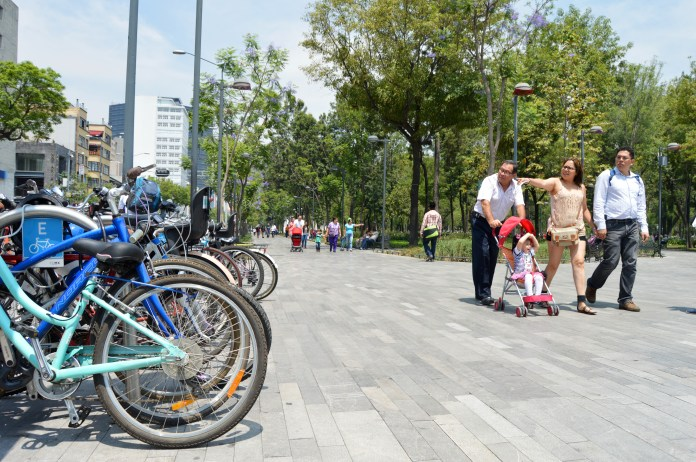 Bike share and public space in Mexico City