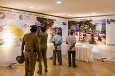The Coimbatore Smart Streets Exhibition was organized by the Coimbatore Corporation and Coimbatore Smart City Ltd. as a community engagement program, to inform the citizens of the designs of the 6 Model Roads and gather their feedback.
