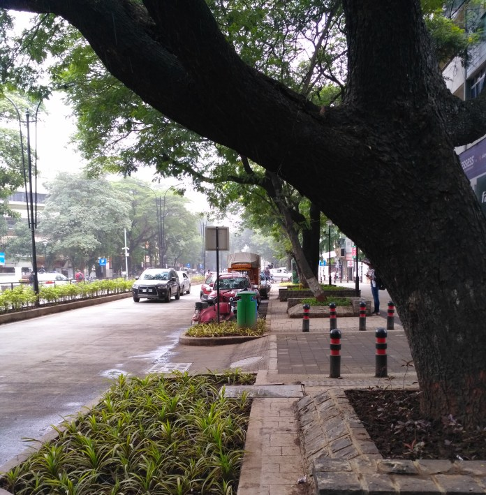 DP Road in Aundh has been redesigned with dedicated spaces for different users
