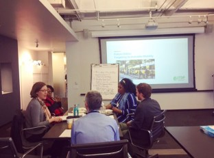 Break-out group focused on public transit targets