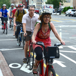 Capital Bikeshare, Washington's station-based system, has been a major success, spanning five jurisdictions and averaging four trips per bike per day. Capital bike share was an early adopter of a per-trip fare option, which launched during a long-term metro rail maintenance period and has become popular. DC was also an early adopter of dockless bikeshare—the pilot now includes scooter share—with fleet sizes capped at 400 per operator. This has helped DC avoid some of the problems other cities have faced managing public space. Dockless bikeshare has been particularly popular with the city's African-American population, potentially correcting the racial disparity in users that has plagued Capital bike share.