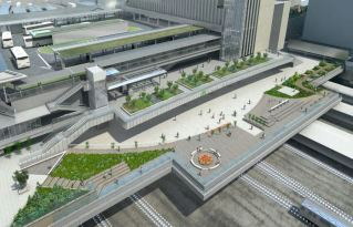 "Shinjuku ""Busta"" Bus Terminal Station constructed over JR Yamanote LineSource: UPON"