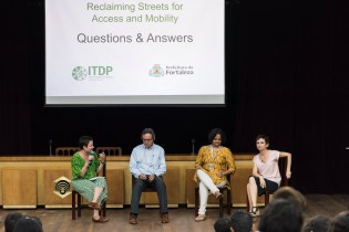 Clarisse Cunha Linke, ITDP Brazil Director interviewed transportation experts on challenges in reclaiming space for the public.