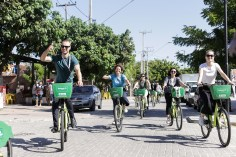 Fortaleza has 257.5 km of cycle lanes, an increase of 280% from 2013.