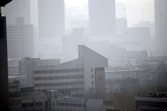 While air pollution remains a problem in China, the country has lowered PM2.5 by 33%.