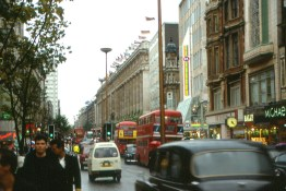 In 1985, congestion was growing, along with things like pollution and poor air quality.