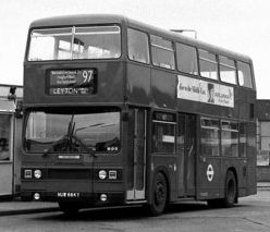 Double decker buses have been a common sight in London, and throughout the United Kingdom since the mid 1800s.