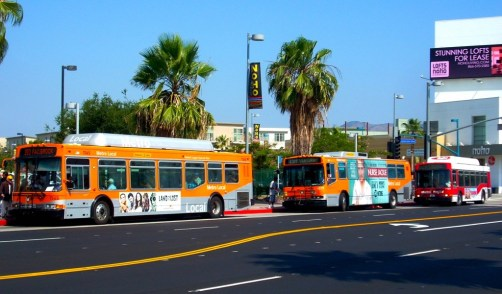 Public transportation has received political support with Californians voting in a referendum to fund public transportation.