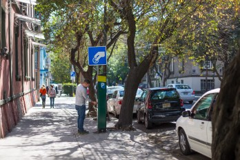 In Mexico City, metered and paid parking in the neighborhood of Polanco led to a massive decrease of greenhouse gas emissions.